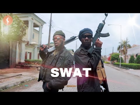BRODASHAGGI and OFFICER WOOS arrests BLOSSOM CHUKWUEJEKU After joining the new NIGERIAN SWAT TEAM