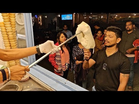 TURKISH Ice Cream Man In INDIA | Pranking Customer With Amazing Tricks | Indian Street Food