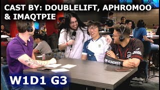 Video DoubleLift, Aphromoo & Imaqtpie cast Clutch Gaming vs Cloud 9 | W1D1 S8 NA LCS Summer 2018 MP3, 3GP, MP4, WEBM, AVI, FLV Juni 2018