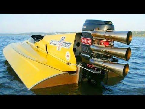 العرب اليوم - شاهد: أغرب أنواع القوارب