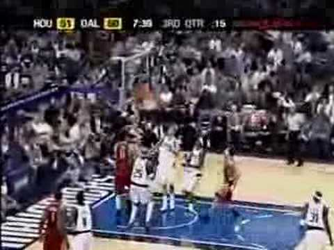 Rockets Highlights vs Mavericks - 2005 Playoffs Game 5