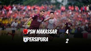 Download Video [Pekan 29] Cuplikan Pertandingan PSM Makassar vs Persipura, 4 November 2018 MP3 3GP MP4