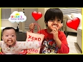 Kids Candy Surprise Valentine Day Haul And Princess T Family Fun Game Ryan 39 S Family Review