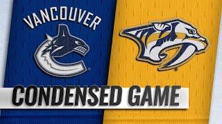 12/13/18 Condensed Game: Canucks @ Predators by NHL