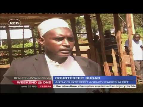 Counterfeit sugar from Uganda