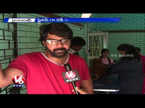 Pet Lovers Showing Interest To Take Pets For Grooming Centres | Hyderabad (28-08-2015)
