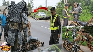 Video Saat Razia Kendaran, P0lisi ini Terkejut Melihat PREDATOR Naik Motor.!  Akhirnya Ditilang Deh!! MP3, 3GP, MP4, WEBM, AVI, FLV Mei 2019