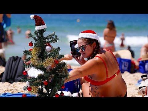 Χριστούγεννα στις παραλίες κάνουν οι Αυστραλοί