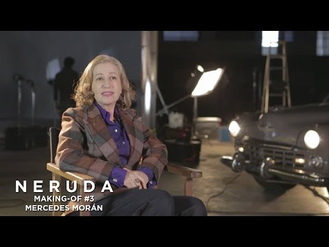 NERUDA - Making-of #3 - Mercedes Moran à propos de Delia del Carril