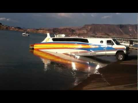Coolest guy at the ramp turns heads with his boat-truck-trailer combo