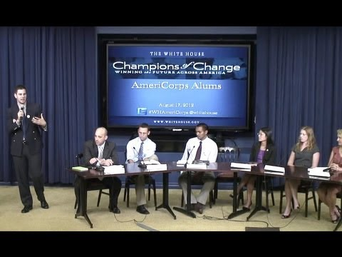 Champions of Change: AmeriCorps Alumni