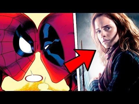 Дэдпул и Человек-Паук целуются Гермиона должна сидеть в Азкабане а Лея стать принцессой Диснея - DomaVideo.Ru
