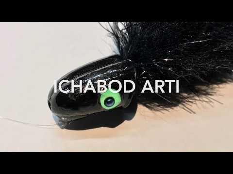How to tie the Ichabod Artimouse fly (long version)