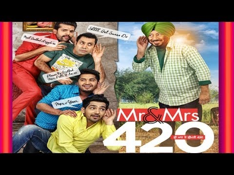 Download Mr & Mrs 420 - Latest Punjabi Film 2017  - New Punjabi Movie 2017 HD Mp4 3GP Video and MP3