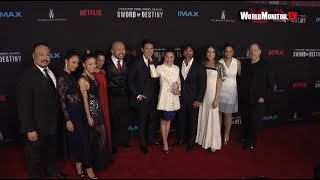 Michelle Yeoh, JuJu Chan 'Crouching Tiger, Hidden Dragon: Sword Of Destiny' premiere
