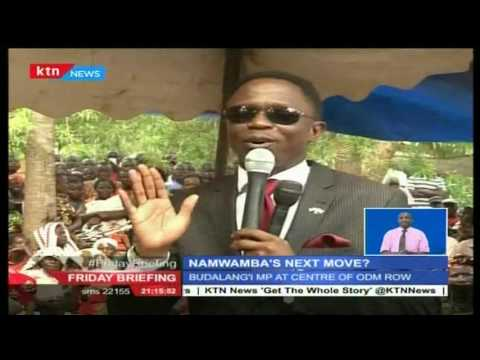 Ababu Namwamba's plots his next move and promises to declare his stand and plans for Busia soon