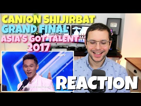 Canion Shijirbat - Grand Final | VOTING CLOSED | Asia's Got Talent 2017 | REACTION