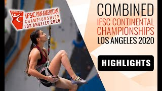 IFSC Pan-American Championships 2020 - Women Finals - Highlights by International Federation of Sport Climbing
