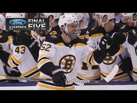 Video: Ford Final Five: B's Take Down Leafs, 3-2