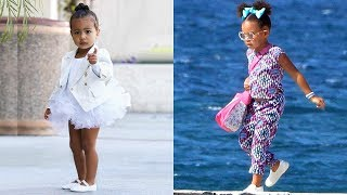 Video Kim Kardashian's Daughter vs Beyonce's Daughter - Who Is The Most Fashionable.?  ★ 2018 MP3, 3GP, MP4, WEBM, AVI, FLV Desember 2018