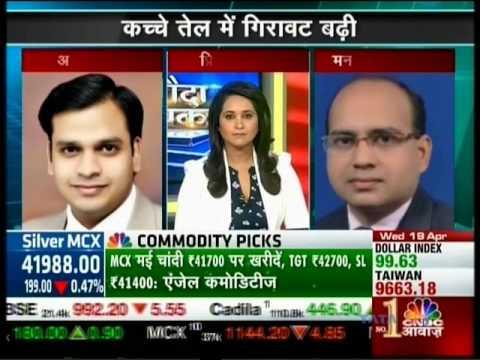 CNBC Awaaz Sauda Aapka, 19 April 2017 - Mr. Anuj Gupta, Angel Broking