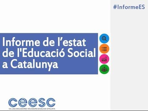 #InformeES – Informe de l'estat de l'Educació Social a Catalunya