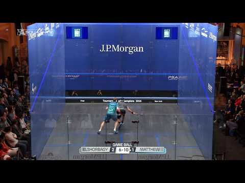 Squash Player Analysis: Nick Matthew's Endurance