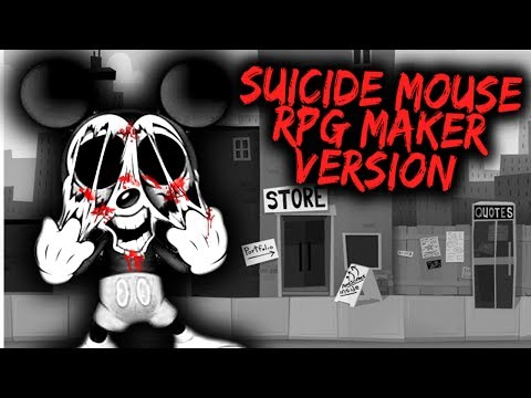 SUICIDE MOUSE IS BACK! CHILDHOOD GONE WRONG! - SUICIDE MOUSE RPG VERSION [Mickey Mouse Horror Game]