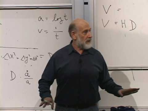 lecture - Lecture 1 of Leonard Susskind's Modern Physics concentrating on Cosmology. Recorded January 13, 2009 at Stanford University. This Stanford Continuing Studies...