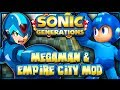 Sonic Generations PC - Megaman & Empire City Adventure Pack