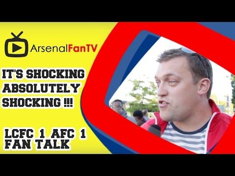 'It's - It's Shocking Absolutely Shocking !!! - Leicester City 1 Arsenal 1 AFTV APP: IPHONE : http://goo.gl/1TNrv0 AFTV APP: ANDROID: http://goo.gl/uV0jFB AFTV ONLINE SHOP : http://tiny.cc/el3rrw...