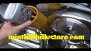 4. How to: Change Oil and Filter on a Harley Davidson