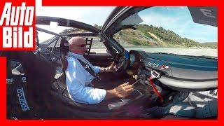 Rennen deines Lebens / 360-Grad Cockpit-Fahrt-Video / Parcmotor Circuit Castelloli/ 2016 by Auto Bild