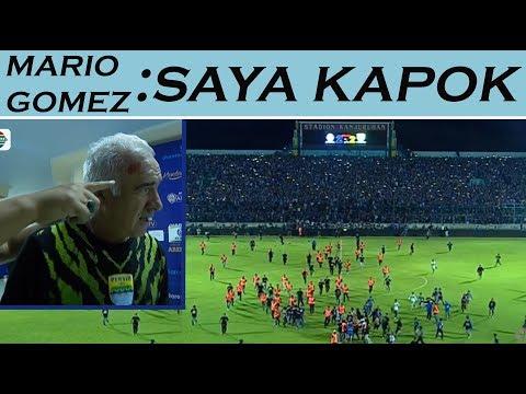 Download Video Inilah Detik-Detik Aremania Masuk Kedalam Lapangan Pertandingan | Mario Gomez Kapok???