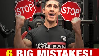 Video 6 Muscle Gaining Mistakes (SLOW OR NO GROWTH!!) MP3, 3GP, MP4, WEBM, AVI, FLV Agustus 2019