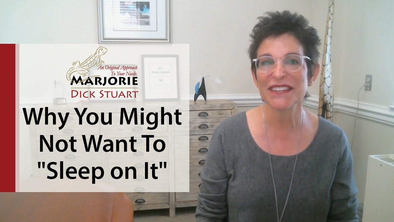 "What's Working Now! - ""Sleep on It,"" and Wake Up to a Nightmare Not a Dream Home!"