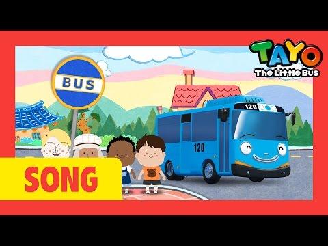 [TAYO Nursery Rhymes] #7 Wheels On The Bus (TAYO ver.)