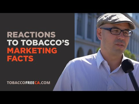 Person on the Street Reaction: Tobacco Marketing