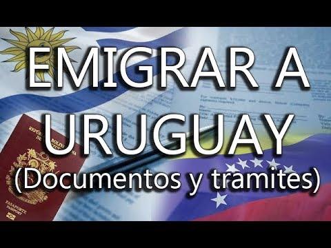 EMIGRAR A URUGUAY 2018 - Como emigrar a Uruguay  @VENEMOV