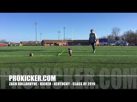 Zach Dollarhyde - Ray Guy Prokicker.com Kicker, Kentucky, 2019
