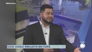 Prefeito reeleito de Tupã  fala dos projetos para o próximo mandato