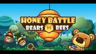 Honey Battle - Bears vs Bees YouTube video