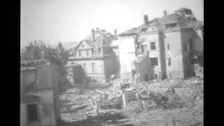 Plauen Germany  City new picture : Bomb Damage In Plauen, Germany in World War