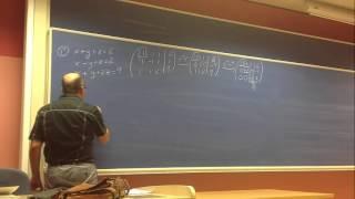 Umh0966 2013-14 Lec001.8 Álgebra Lineal. Ejercicio Nº 1 De Gauss