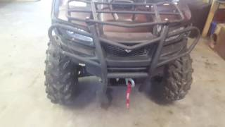 10. 2016 suzuki king quad 750 update
