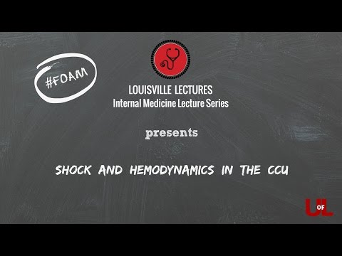 Shock And Hemodynamics In The CCU With Dr. Brown