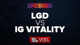 iG.V vs LGD.cn, game 1