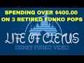 SPENDING OVER $400.00 ON 3 RETIRED DISNEY FUNKO POPS | UNBOXING