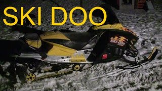 8. Ski doo Rev 800 first ride 2016