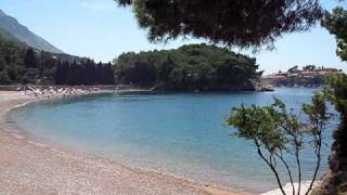 Milocer Montenegro  City pictures : Montenegro, Crna Gora, Beautiful beach, Budva riviera, Milocer, King beach (Kraljeva plaza)